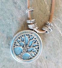Tree of life Pendant necklace handmade noosa
