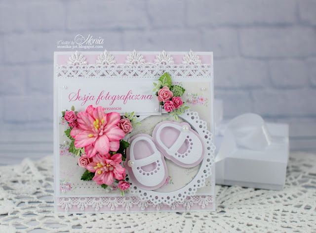 Wild Orchid Crafts: Card for a baby