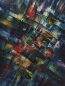 "BOURBON ST Original Oil Painting 22'x28"" by John R Jurisich"