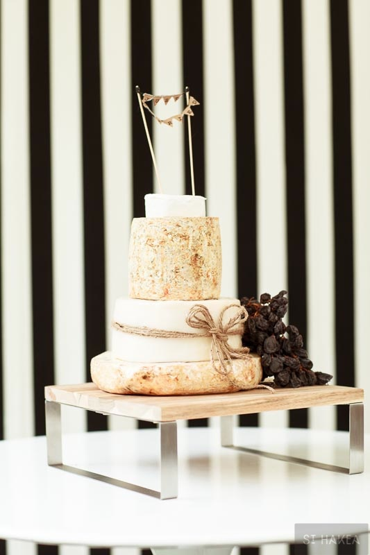 wedding cheese cake. Styled by St. Hakea sthakea.com