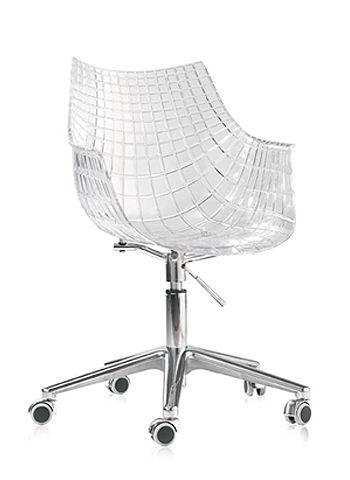 La silla giratoria de diseño Kubika nos ofrece un excelente aspecto visual y gran calidad de acabados, cuidando el máximo el detalle. Todo un clásico del diseño a tu alcance.