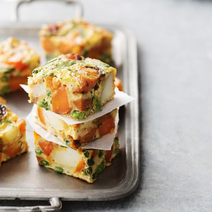 Make an awesome Vegetable Frittata with your Christmas leftovers!