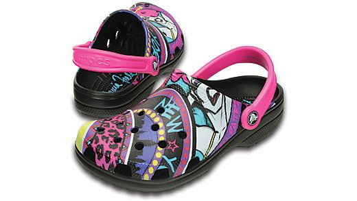 Get ready for one of our boldest, most colorful Classic Clogs ever. We collaborated with fashion visionary Patricia Field on this special-edition style. She's won Emmys and earned an Academy Award nomination for costume design, and her New York City boutique is a pop-culture landmark. We're thrilled with the energy of the graphics and think you'll love them, too. All the comfort you want is here, with cushiony Croslite™ foam construction. Free shipping on qualifying orders.