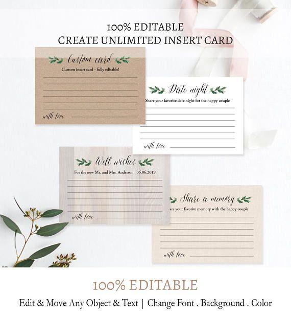 Date Night Idea Rustic Date Night Cards Custom Enclosure Etsy Custom Wedding Cards Funny Wedding Games Wedding Brunch Invitations