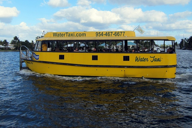 Ft. Lauderdale - Water Taxi A fun and safe way to get around town!