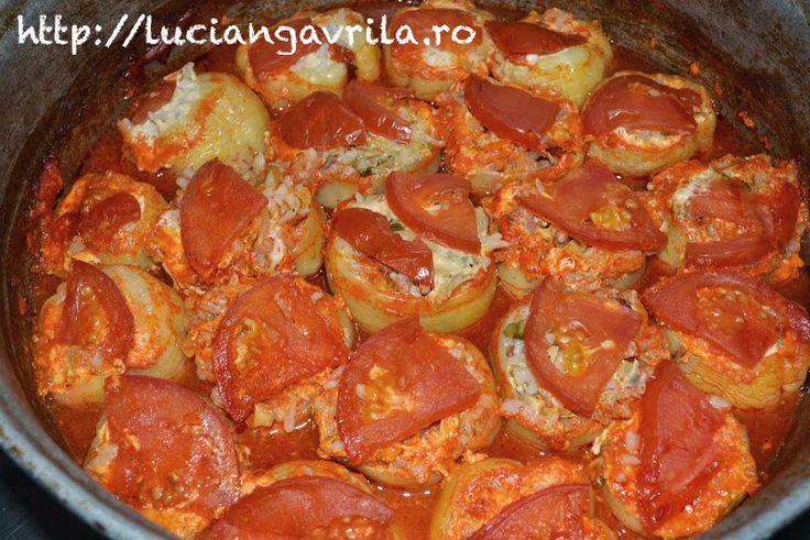 Stuffed bell peppers - Ardei umpluți
