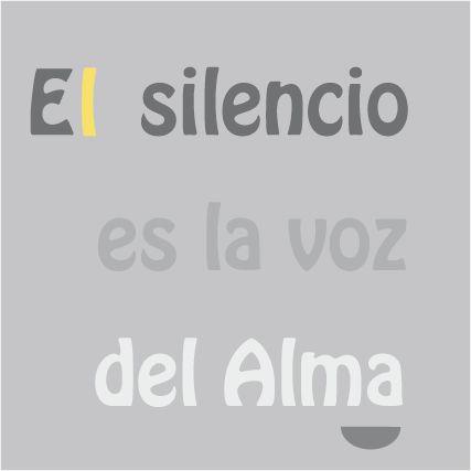 El silencio es la voz del Alma. #frases #pensamientos #espiritualidad