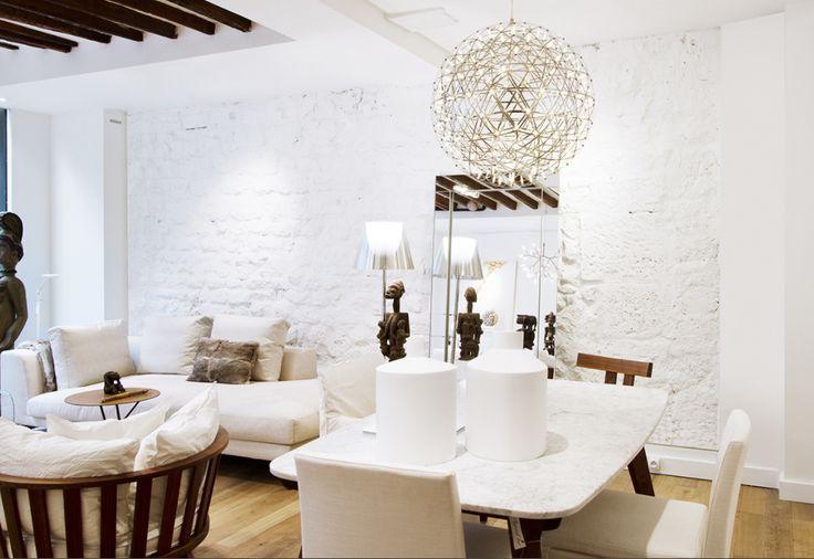 Interior design by Casamilano home collection.  Photo courtesy of aujourdhui.paris  #casamilano #interiordesign #interieur #interior #interiordesigner