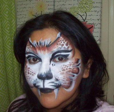 How To Paint A Cheetah Face