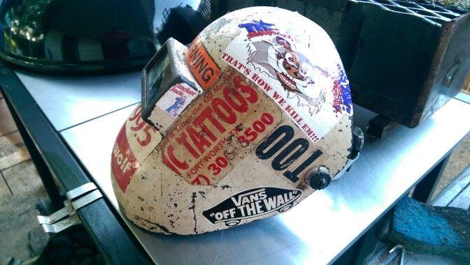 "Custom Welding Helmets >> #Pipeliner welding hood. | Welder ""I wanna be a Welder ..."