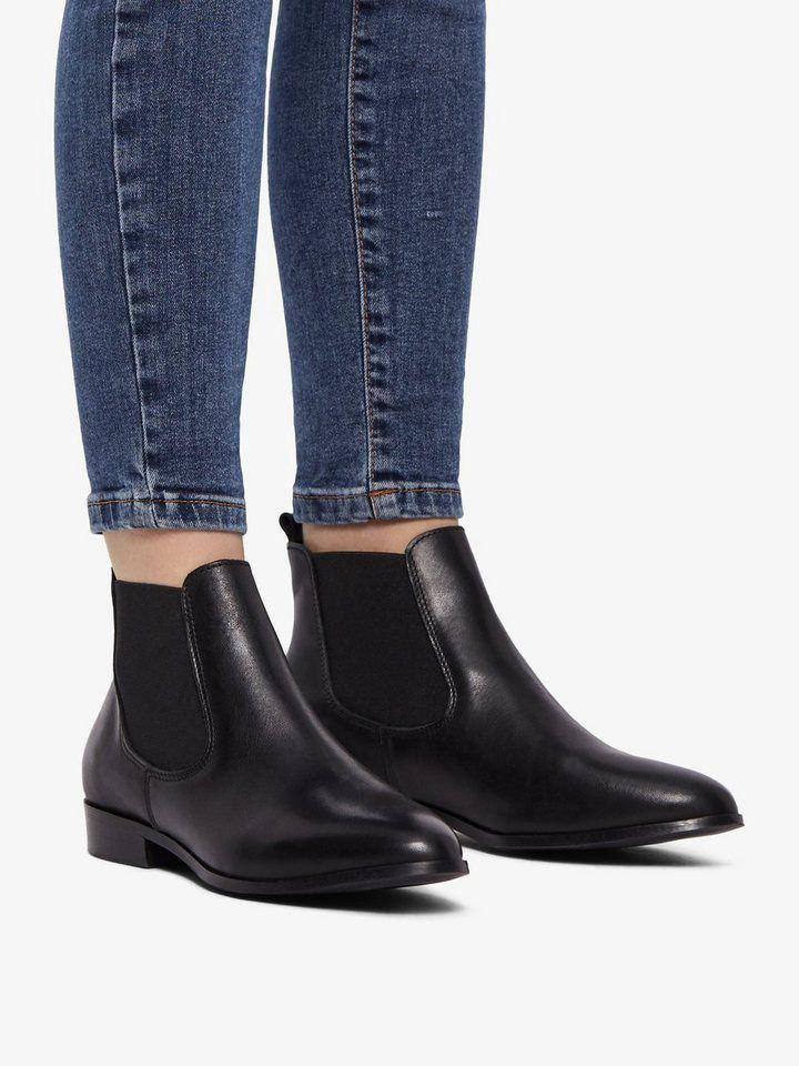 222f59ba1c7c68 Bianco Leder Chelsea Boots für 109