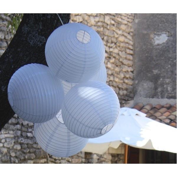 lampion boule japonaise en papier blanc lampions lanterns pinterest. Black Bedroom Furniture Sets. Home Design Ideas