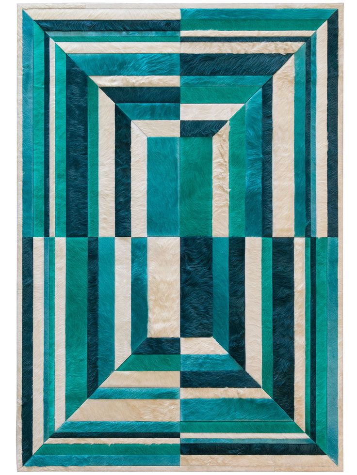 Buy Faceta by Kyle Bunting - Quick Ship designer Rugs from Dering Hall's collection of Contemporary Geometric Hide.