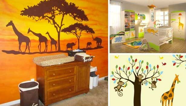 Furnishing kids room: 25 DIY forest bedroom…