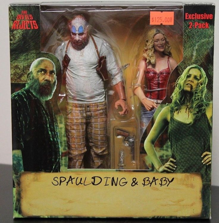 NECA Reel Toys The Devil's Reject SPAULDING & BABY two pack in package