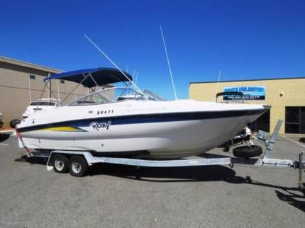 Bayliner 245 Bowrider GREAT PARTY BOAT EXCELLENT CANAL CRUISER | Motorboats & Powerboats | Gumtree Australia Wanneroo Area - Wangara | 1150363882