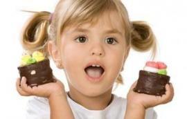 Τί γλυκά να επιλέγω να δώσω στο παιδί μου;