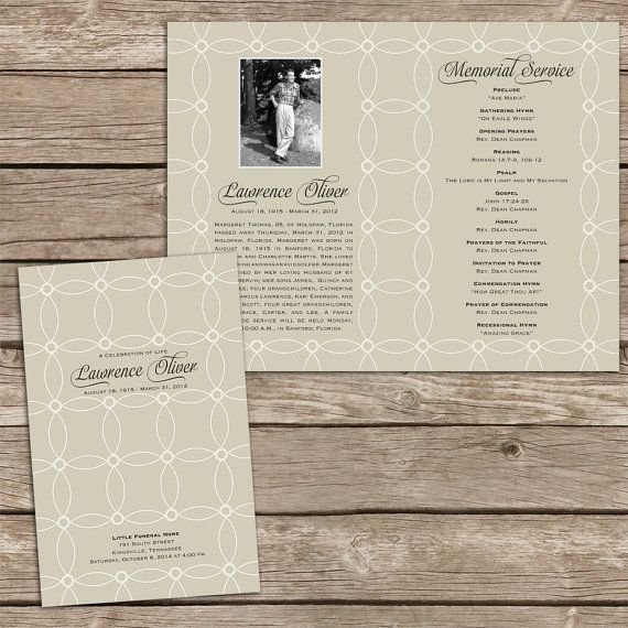 Ron Hudgens (ronhudgens) on Pinterest - funeral programs examples
