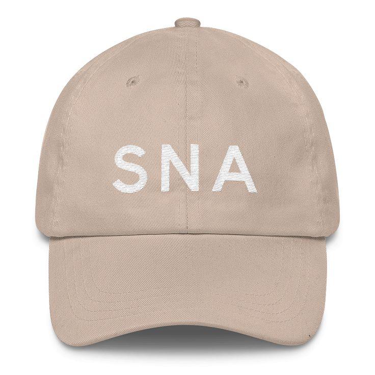 SNA Orange County Airport Code Classic Dad Cap