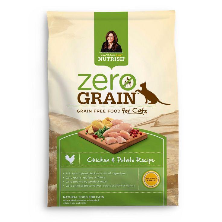 Rachael Ray Nutrish Zero Grain Natural (Chicken & Potato) - Dry Cat Food - 12lbs
