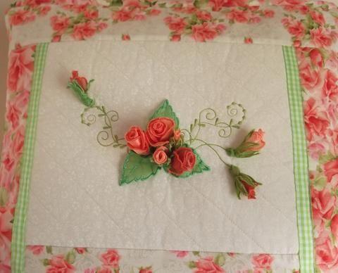 Rosebud Cushion