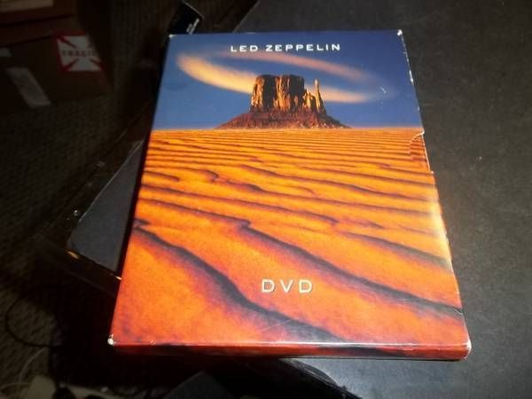 Led Zeppelin DVD, 2003, 2-Disc Set 5 1/2 Hours With Original Inserts