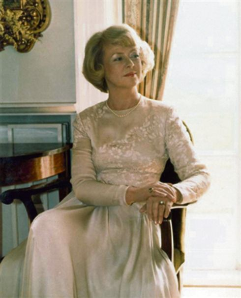 Vigdís Finnbogadóttir was president of Iceland from 1980 - 1996. She was the world's first democratically elected female head of state.
