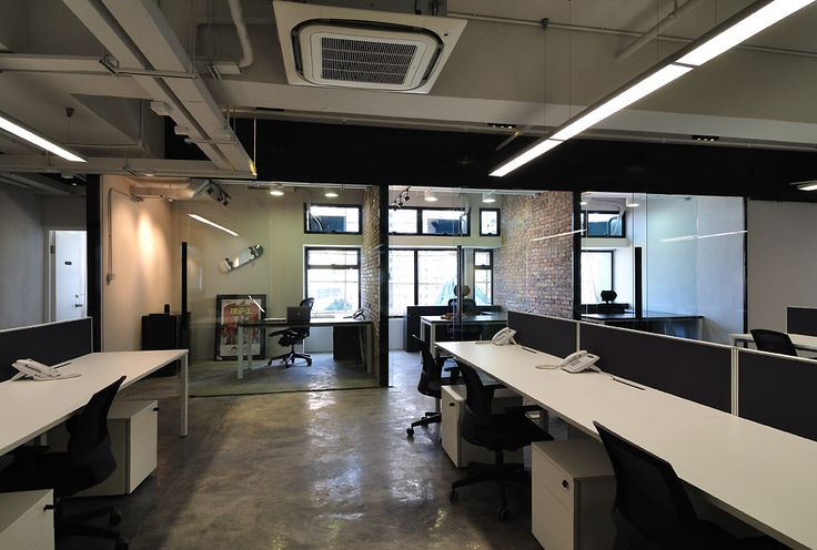 Cool Raw Office Design U003e Management Offices | Industrial Office | Pinterest  | Office Designs, Industrial Office And Meeting Rooms