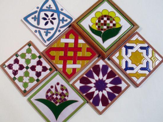 spanish tile wall decor - Google Search