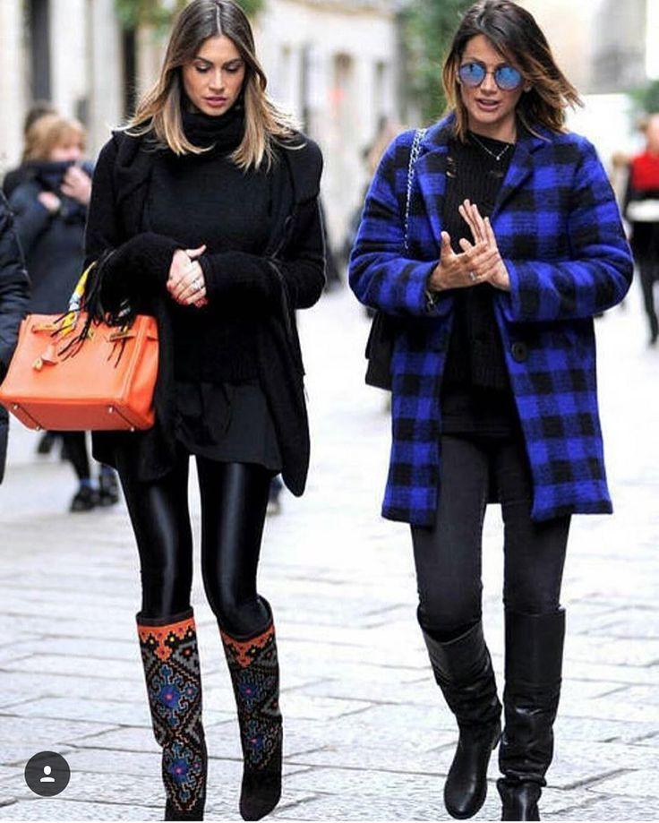 #MelissaSatta Melissa Satta: Ma di Che cosa stavamo parlando @simonasalvemini  #fashionweek #milan @brian_atwood @hermes