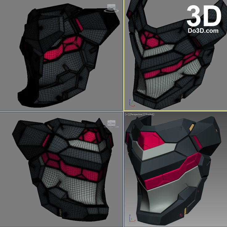 Persona-Helmet-3d-printable-by-do3d-from-Phantasy Star-Online-2-PSO2