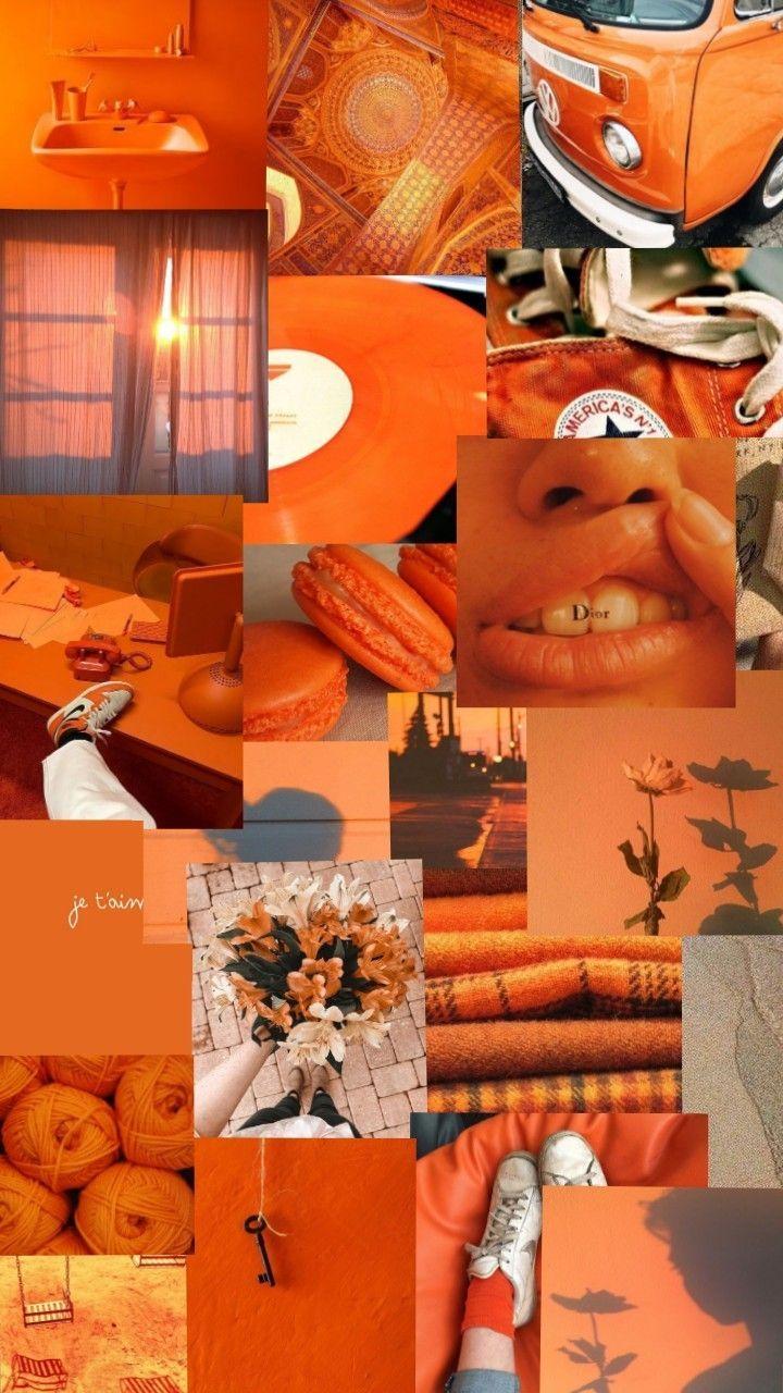 Wallpaper Orange Aesthetic Pastel Wallpaper Orange In 2020 Orange Wallpaper Aesthetic Pastel Wallpaper Aesthetic Iphone Wallpaper