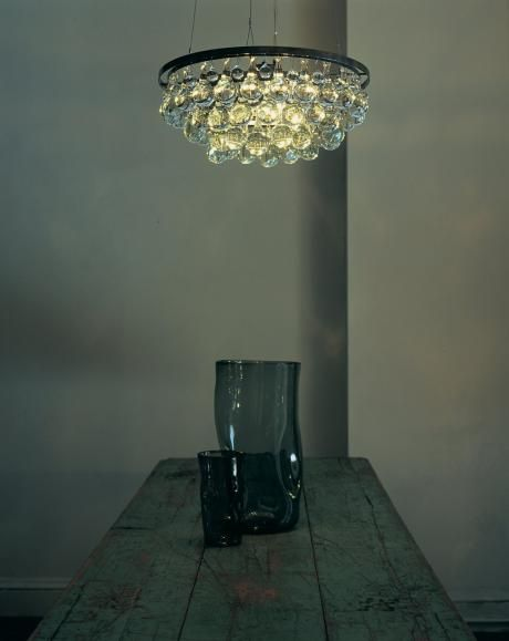 round 60cm - Ochre lighting fixture (first saw this in Elle Decor of Keri Russell's house.  Would be awesome above the breakfast table)