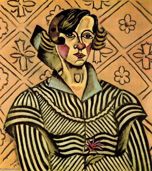 """Joan Miro: Joan Miro """"Self Portrait"""" 1917"""