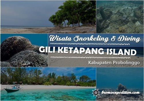 Snorkeling di Gili Ketapang Probolinggo Jawa Timur