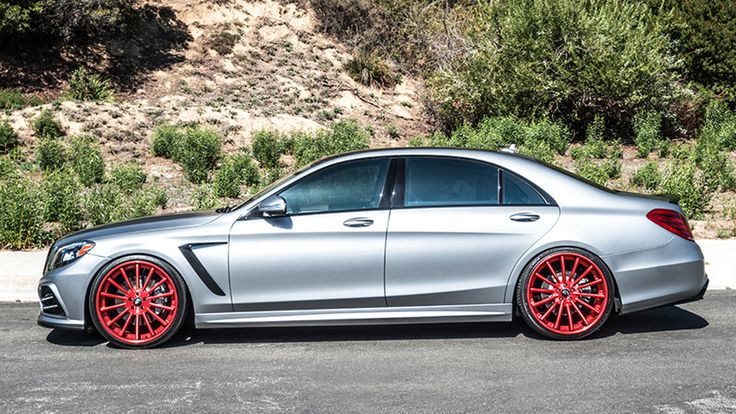 "Mercedes-Benz S550 with Prior Design body kit on 22"" F2.15, Forgiato, wheels Built by: RDB LA"