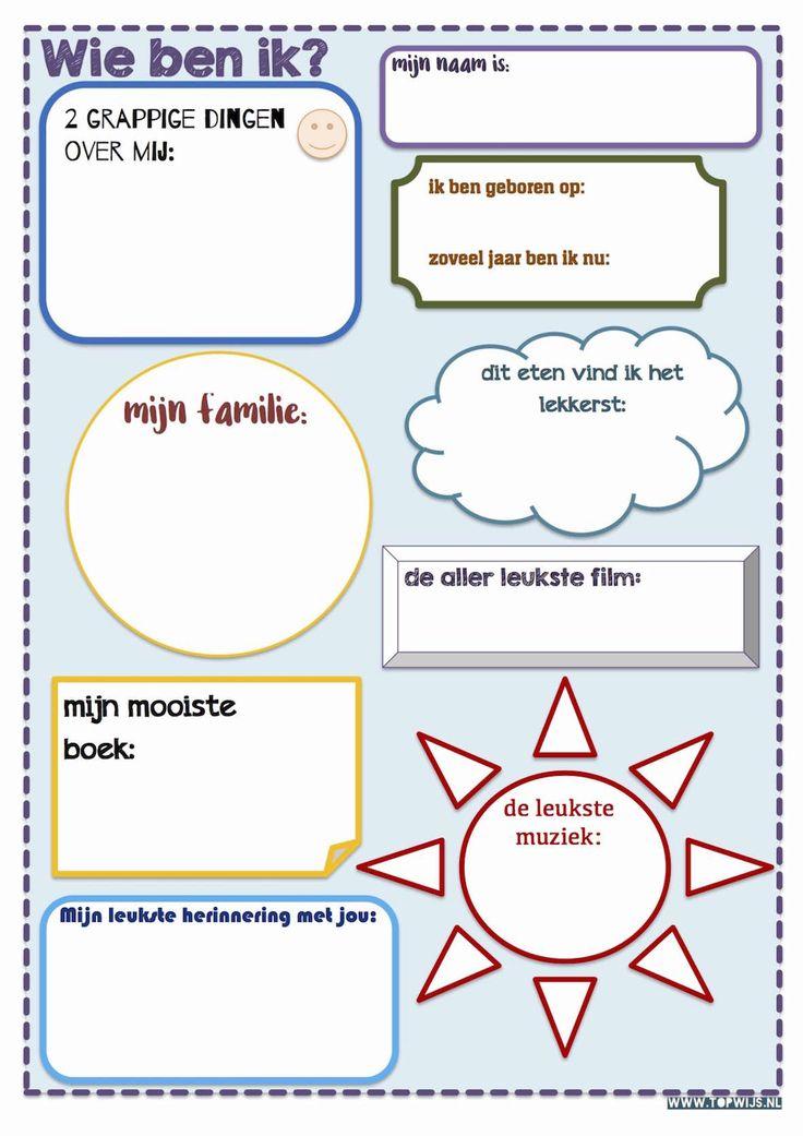 Vriendenboekje maken: Download het vriendenboekje. Het vriendenboekje is goed te gebruiken als afscheidscadeau voor een leerling of leerkracht.  vriendenboekje - vriendschapsboekje - afscheidscadeau