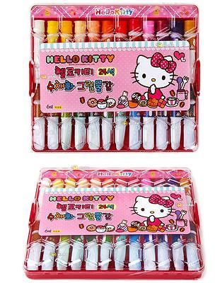 Hello Kitty Water Paint 24 Colors for Kids Made in Korea