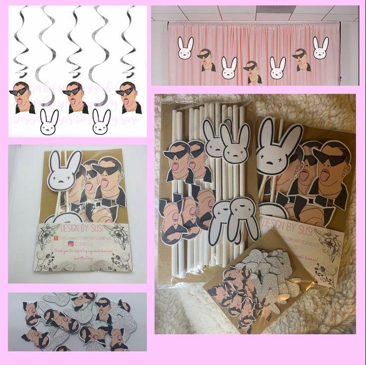 Bad bunny party pack bad bunny party bad bunny banner bad