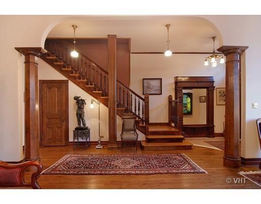 Foyer Home Insurance : Lovely large foyer doors and floors lights bright