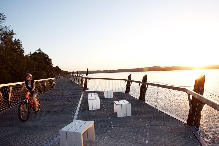 Shared pathway at Red Bluff, Eleebana, Lake Macquarie