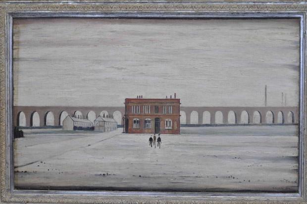 LS Lowry's The Viaduct