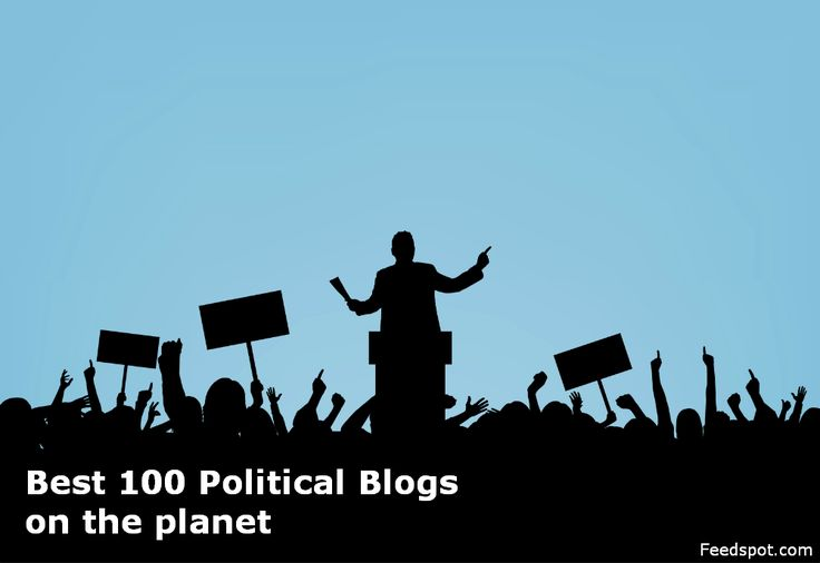 Top 100 Political Blogs & Websites on the Web http://blog.feedspot.com/political_blogs/