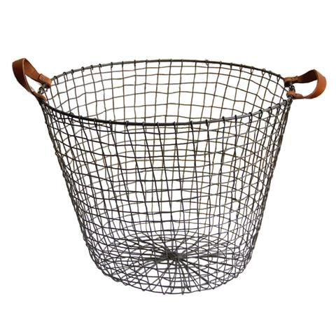 Industrial Wire Basket | The Society inc by Sibella Court