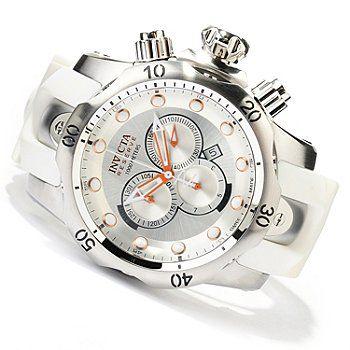 Like<------ Invicta Reserve Mens Venom Swiss Made Quartz Chronograph Stainless Steel Strap Watch