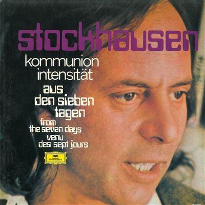 Aus den sieben tagen (1968) Kommunion Aus den sieben tagen (1968) Intensitat (LP printed in Germany)