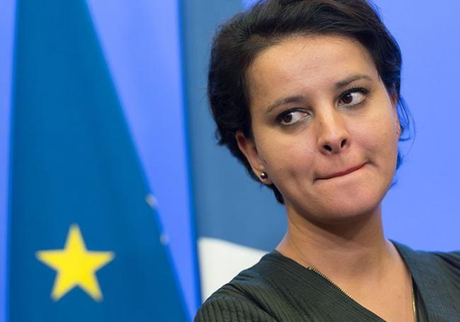 Najat Vallaud-Belkacem. Photo © SIPA