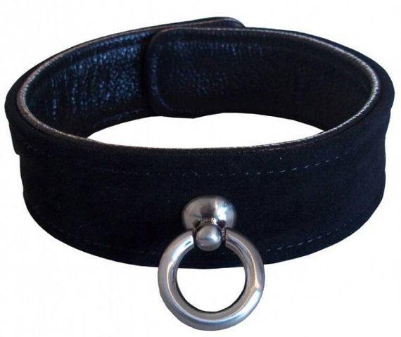 Sieh dir dieses Produkt an in meinem Etsy-Shop https://www.etsy.com/de/listing/400036765/halsband-mit-o-ring-echtleder