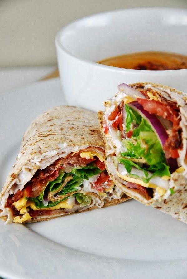 Bacon Ranch Turkey Wrap Recipe , yum! | #Turkey_Recipes
