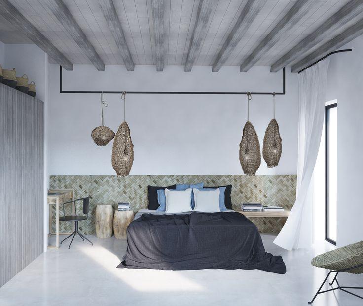 Mykonos # AlexandraKoulouri&IoannaMari  #MostChicInteriors&Ideas  #Interiordesigners #Inspiration #decorvibes #bedroom